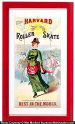 Harvard Roller Skates Sign