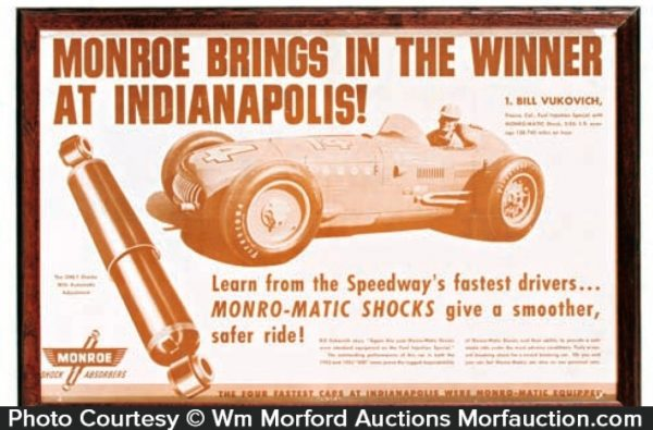 Vintage Indianapolis 500 Poster