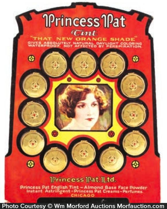 Princess Pat Tint Display