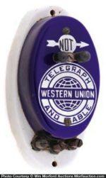 Western Union Call Box