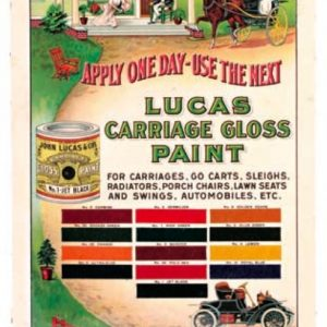 Lucas Carriage Paint Sign