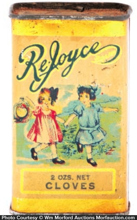Re-Joyce Spice Tin