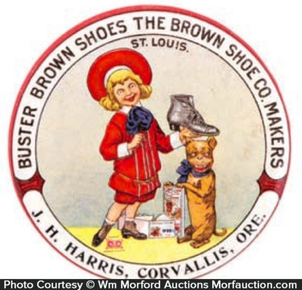 Buster Brown Shoes Mirror