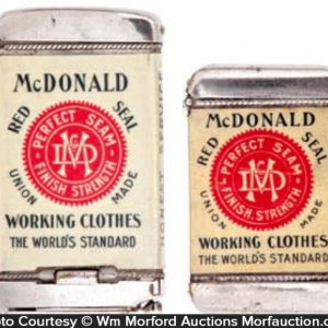 Mcdonald's Perfect Seam Match Safes