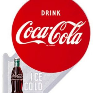 Coca-Cola Ice Cold Flange Sign