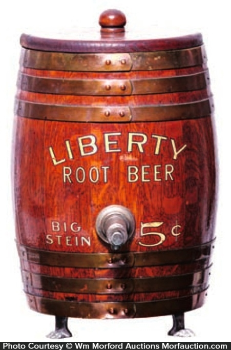 Liberty Root Beer Dispenser