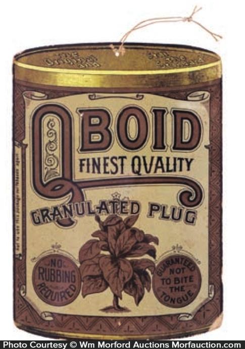 Qboid Tobacco Sign