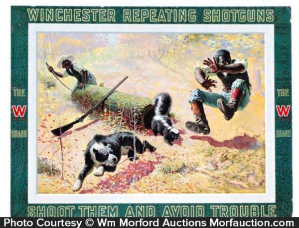 Winchester Shotguns Sign