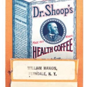Dr. Shoop's Health Coffee Match Holder
