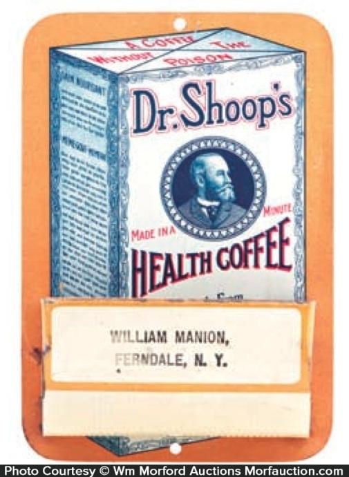 Dr. Shoop's Health Coffee Match Holder