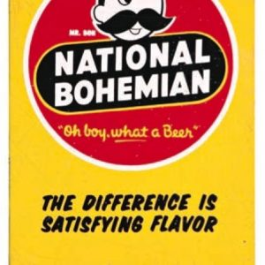 National Bohemian Beer Door Push