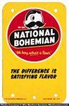 National Bohemian Beer Door Push