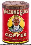 Welcome Guest Coffee Can