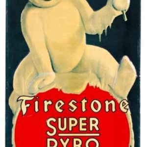 Firestone Anti-Freeze Sign