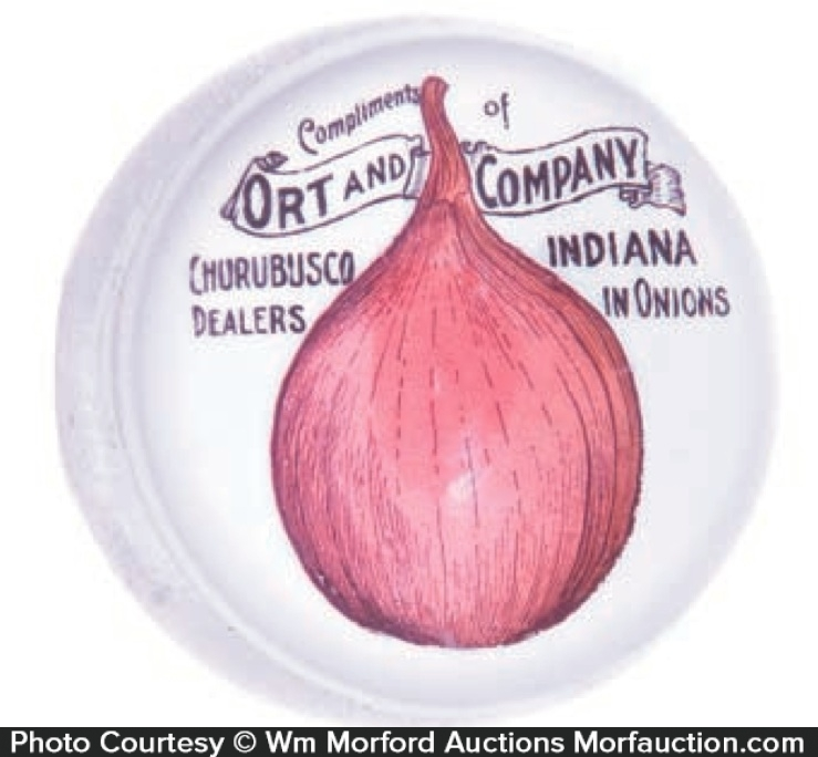 Ort Onion Paperweight