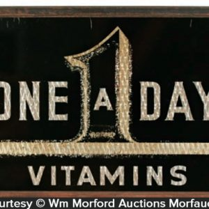 One A Day Vitamins Sign