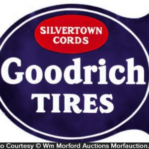 Goodrich Tires Porcelain Sign