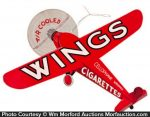 Wings Cigarettes Sign