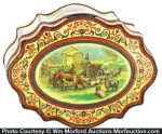 Huntley and Palmers Agriculture Biscuit Tin