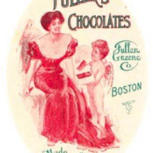 Fuller Chocolates Pocket Mirror