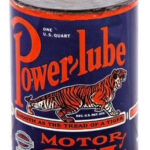 Power Lube Motor Oil Can