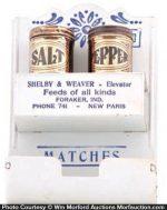 Vintage Kitchen Match Holder