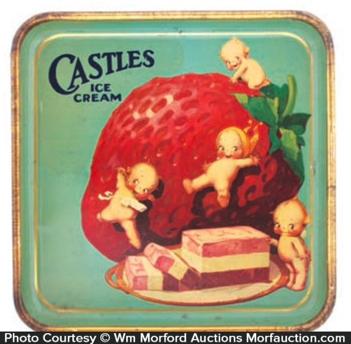 Castles Ice Cream Tray