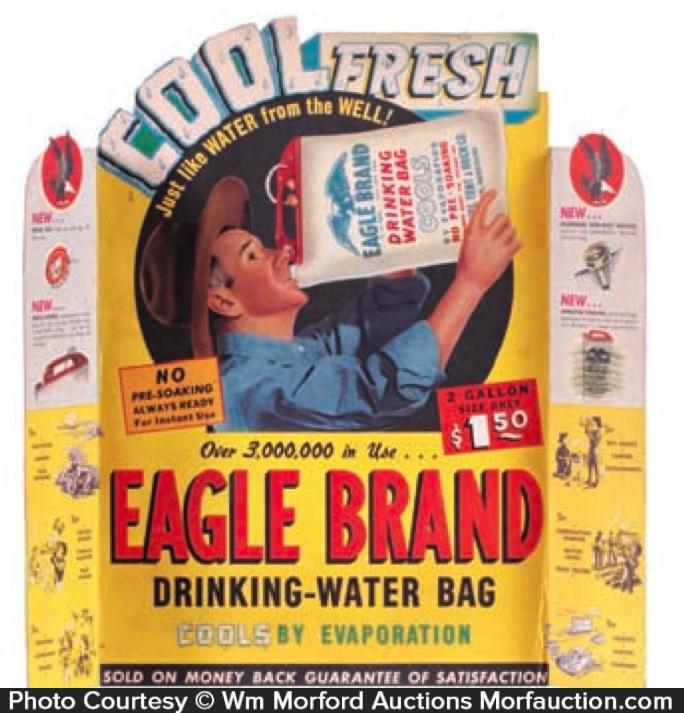 Eagle Water Bags Display