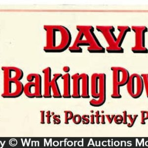 Davis Baking Powder Sign