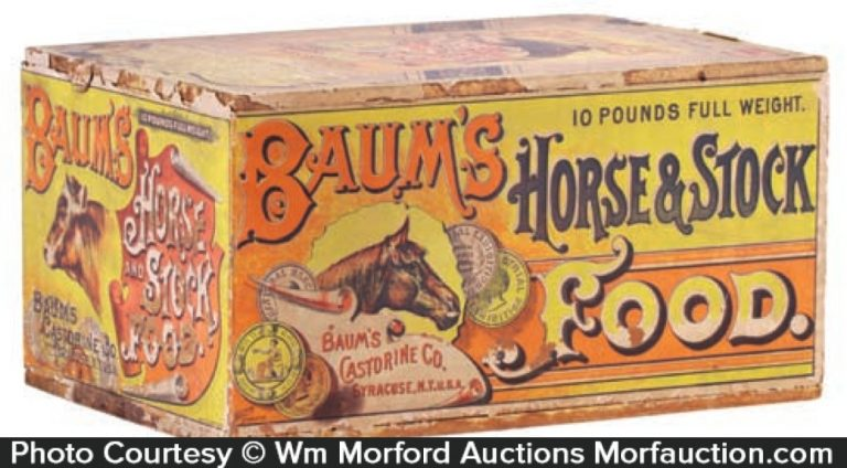 Baum's Horse & Stock Food Box