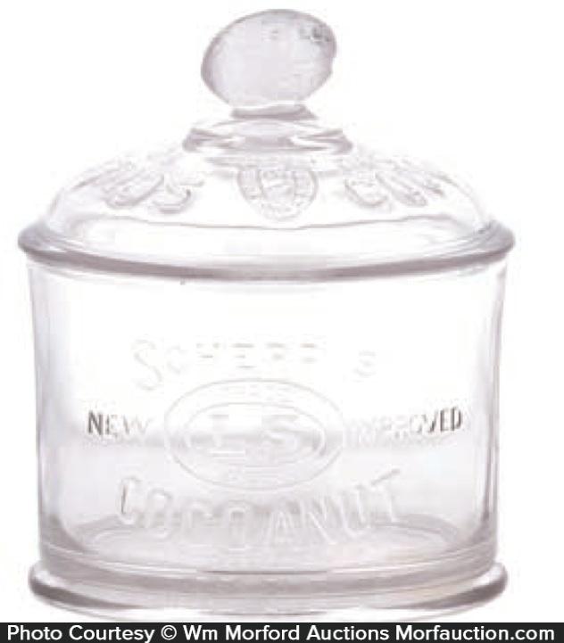 Schepp's Cocoanut Jar