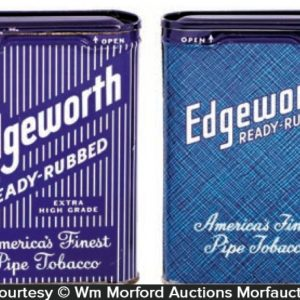 Edgeworth Pocket Tobacco Tins