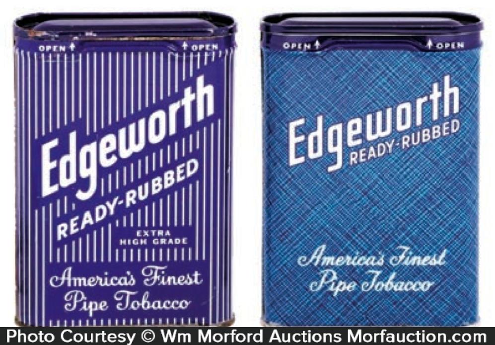 Edgeworth Pocket Tobacco Tins