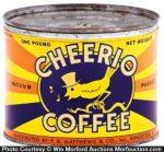 Cheerio Coffee Can