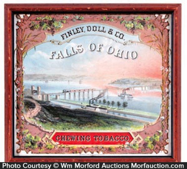 Finley Tobacco Falls Of Ohio Label