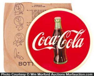 Coca-Cola Celluloid Sign
