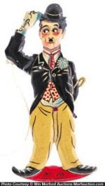 Charlie Chaplin Tin Toy