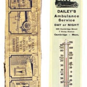 Dailey's Ambulance Thermometer