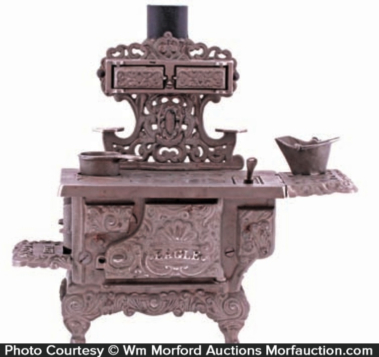 Miniature Eagle Advertising Stove