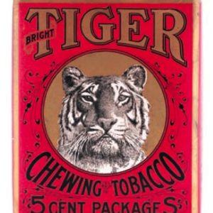 Tiger Tobacco Bin