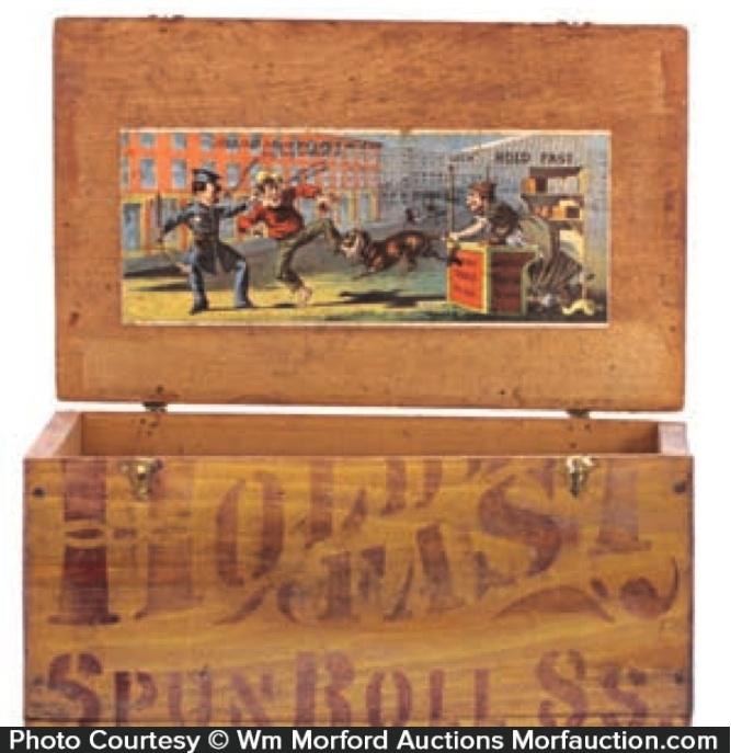 Hold Fast Tobacco Box