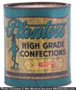 Planters High Grade Confections Tin