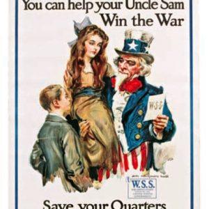 War Savings Stamps Poster