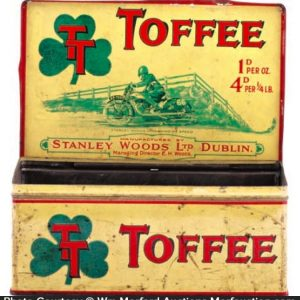 Stanley Woods Toffee Tin