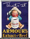 Armour's Beef Poster