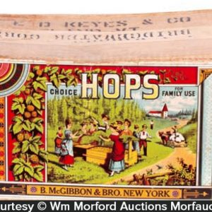 Mcgibbon's Hops Shipping Box