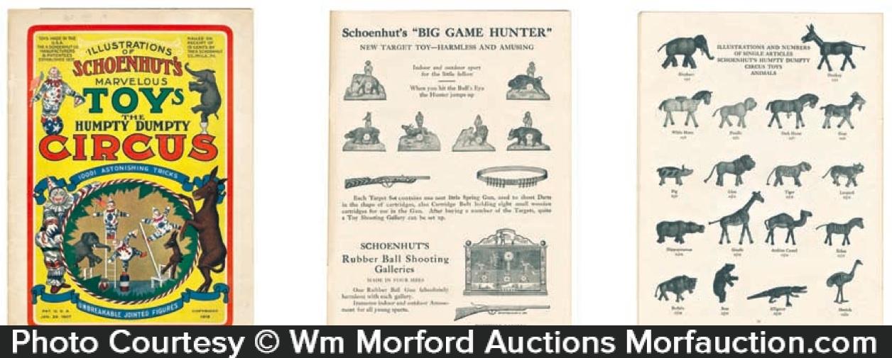 Schoenhut Toys Circus Catalog