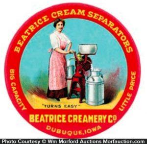 Beatrice Cream Separators Mirror