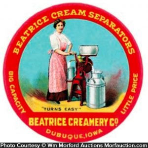 Beatrice Cream Separators Mirror