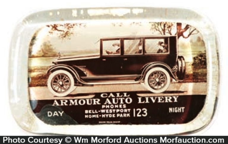 Armour Auto Livery Paperweight